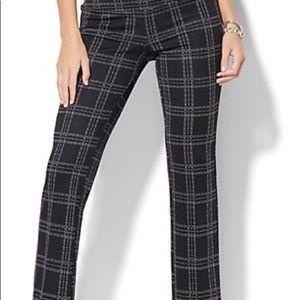 NWOT Women's NY&Co ponte dress pant size large